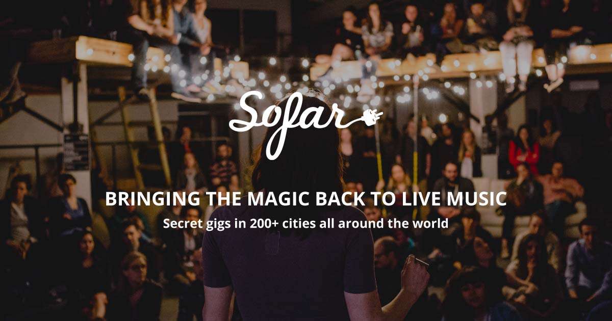 Upcoming events | Sofar Sounds